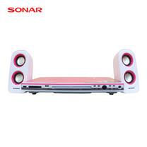 ชุดเครื่องเล่นดีวีดี SONAR รุ่น UX-V111P - White/Pink