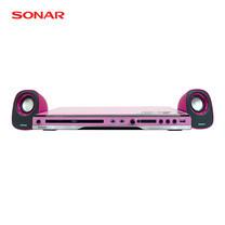 ชุดเครื่องเล่นดีวีดี SONAR รุ่น W-960 - Pink/Black