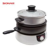 SONAR หม้ออเนกประสงค์ 8IN1 1.5 ลิตร รุ่น SR-D513 - White