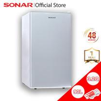 Sonar ตู้เย็นเล็ก ตู้เย็นมินิ ตู้เย็นมินิบาร์ ตู้เย็น 1 ประตู 3.2 คิว 90L รุ่น RS-H90N ขายดี ประหยัดไฟ