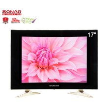 SONAR LED TV 17 นิ้ว DIGITAL TV ดิจิตอลทีวี จอ CCTV MONITOR จอมินิเตอร์ CurvedDesign รุ่น LD-49T01(JC1) *ไม่ต้องต่อกล่อง
