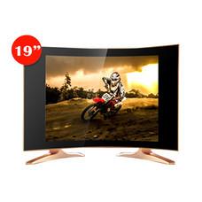 SONAR LED TV 19 นิ้ว DIGITAL TV ดิจิตอลทีวี จอ CCTV MONITOR ทีวีแอลอีดี จอมินิเตอร์ ทีวี Curved Design รุ่นLD-56T01(JC1)