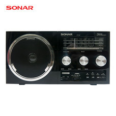 SONAR วิทยุ FM/AM รุ่น SP-202 - ลายไม้สีดำ
