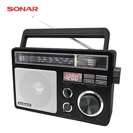 SONAR วิทยุ FM/AM รุ่น SP-103 - Black