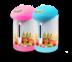Sonar กระติกน้ำร้อน,กระติกน้ำร้อนไฟฟ้า,กาต้มน้ำร้อน รุ่น SP-T201 (2.5 ลิตร)สีชมพู