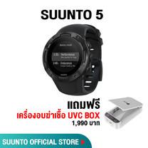 Suunto 5 นาฬิกาออกกำลังกาย - All Black (รับประกันศูนย์ไทย 2 ปี)