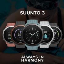 Suunto Smartwatch นาฬิกาออกกำลังกาย รุ่น Suunto3 รุ่นใหม่ 2020 มี 5 สี Made in Finland รับประกันศูนย์ไทย 2 ปี