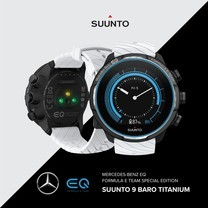 Suunto Smartwatch นาฬิกามัลติสปอร์ต Limited Edition - SUUNTO9 รุ่น Merceses-Benz EQ Formula E Team Special Edition - จำหน่ายเพียง 10 เรือน - รับประกันศูนย์ไทย 2 ปี