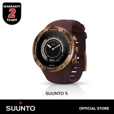 Suunto 5 นาฬิกาออกกำลังกาย - Burgundy Copper (รับประกันศูนย์ไทย 2 ปี)