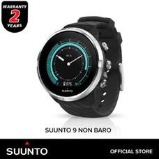 SUUNTO 9 NON BARO BLACK นาฬิกาออกกำลังกายมัลติสปอร์ต รับประกันศูนย์ไทย 2 ปี