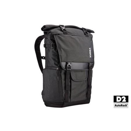 THULE กระเป๋ากล้อง Covert DSLR Rolltop Backpack รุ่น TCDK-101 สี Dark Shadow