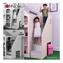 TOMATO KidZ บันไดเสริมเตียงบ้าน Amberly Doll house