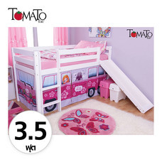 TOMATO KidZ เตียงนอน Slider Little Princess Van 3.5 ฟุต - White