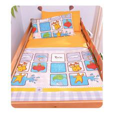 TOMATO KidZ ชุดผ้าปูที่นอน 3 ชิ้น สำหรับเตียง 3.5 ฟุต - Riley Rain