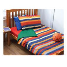 TOMATO KidZ ชุดผ้าปูที่นอน 3 ชิ้น สำหรับเตียง 3.5 ฟุต- Henry Stripes