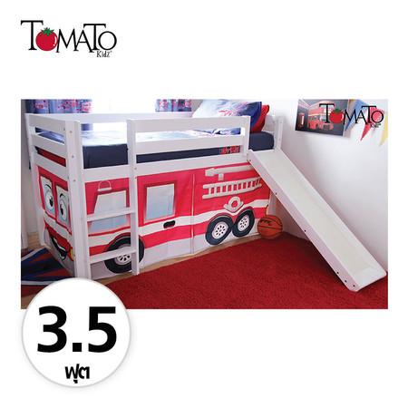 TOMATO KidZ เตียงนอน Slider Fire Rescue 3.5 ฟุต - White