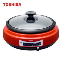 TOSHIBA กะทะไฟฟ้า 1300 วัตต์ HGN-5D(KR)A - Red