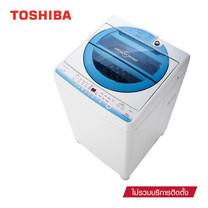 TOSHIBA เครื่องซักผ้าอัตโนมัติฝาบน 8 กก. AW-E900LT(WB)