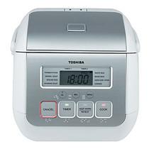 Toshiba หม้อหุงข้าว 0.54 ลิตร RC-5MS - White