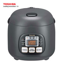 Toshiba หม้อหุงข้าวดิจิตอล ความจุ 0.54 ลิตร รุ่น RC-5MM(KH)A - Grey