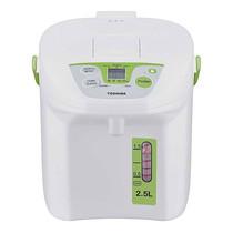 Toshiba กระติกน้ำร้อนดิจิตอล ความจุ 2.5 ลิตร รุ่น Hot Pot PLK-25FL(NG)A - White/Green