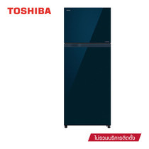 TOSHIBA ตู้เย็นอินเวอร์เตอร์ 2 ประตู 14.6 คิว รุ่น GR-TG46KDZ(XG)