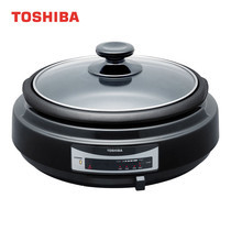 TOSHIBA กะทะไฟฟ้า 1000 วัตต์ HGN-5D(K)A -Black