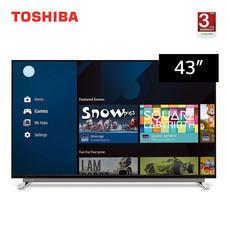 TOSHIBA Ultra HD 4K Android TV ขนาด 43 นิ้ว รุ่น 43U7750VT