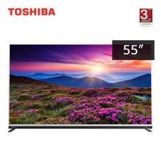 TOSHIBA Ultra HD 4K Android TV ขนาด 55 นิ้ว รุ่น 55U9750VT