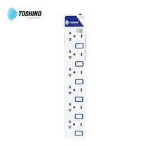 Toshino รางปลั๊ก มอก. 6 ช่อง ป้องกันไฟกระชาก สายยาว 5 เมตร ET-9165M