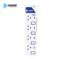Toshino รางปลั๊ก มอก. 4 ช่อง ป้องกันไฟกระชาก สายยาว 3 เมตร ET-914