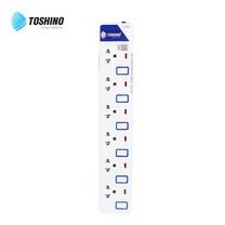 Toshino รางปลั๊ก มอก. 6 ช่อง ป้องกันไฟกระชาก สายยาว 3 เมตร ET-916