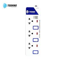 Toshino รางปลั๊ก มอก. 3 ช่อง ป้องกันไฟกระชาก สายยาว 5 เมตร ET-9135M
