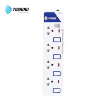 Toshino รางปลั๊ก มอก. 4 ช่อง ป้องกันไฟกระชาก สายยาว 5 เมตร ET-9145M