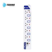 Toshino รางปลั๊ก มอก. 5 ช่อง และ 2 USB ป้องกันไฟกระชาก สายยาว 3 เมตร ET-915USB