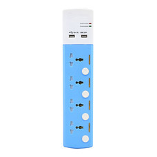 Toshino ปลั๊กไฟ 4 ช่อง 4 สวิตช์ USB (2.1A) ยาว 3 เมตร รุ่น TSP4W-USB