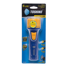 Toshino ไฟฉายชาร์จไฟ 6 LED RHP-6061