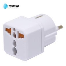 Toshino ปลั๊กแปลงขายุโรป  รับไฟ 3500W รุ่น EA-EU