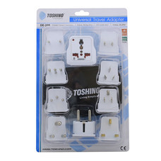 Toshino Travel Adapter 9in1 DE-209