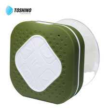 Toshino Wireless Speaker กันน้ำได้ BST15-GR - Green