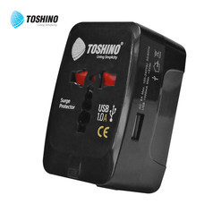 Toshino Travel Adapter 4 in 1 1 USB DE-205