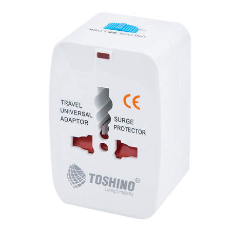 Toshino ปลั๊ก Travel Adapter 4in1 DE-204