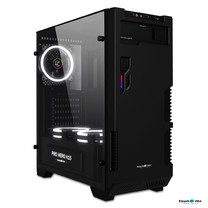 Tsunami Pro Hero Series K15 Neo Gaming Case (ATX/USB 3.0) (with Tempered Glass Transparent Panel) KW
