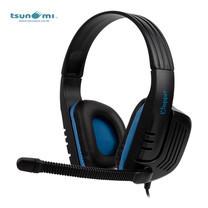 Tsunami CHOPPER SADES 3.5mm Stereo Gaming Headphone with Mic SA-711 - BLUE