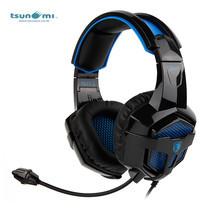 Tsunami BPOWER SADES Multiplatform Stereo PC Gaming Headset with Mic SA-739 - BLACK