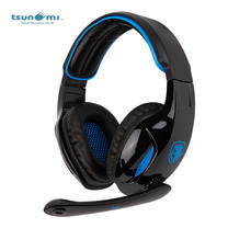 Tsunami SNUK SADES Virtual 7.1 Channel USB Surround Stereo Wired PC Gaming Headset with Mic SA902 - BLUE
