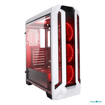Tsunami Pro Hero K2 Series Full-view tempered glass panel (with 33 PCS LED 12 CM Fan X 3) WR