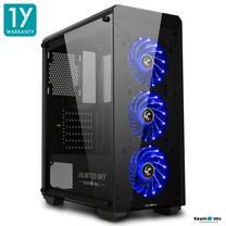 Tsunami Unlimited SKY+ LED Fan Super ATX Gaming Case  KB