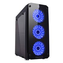 Tsunami Coolman Rutile SUPER-ATX Gaming Case Breathing Ring Led Fan KB