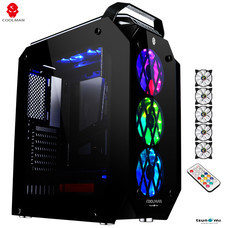 Tsunami AMBER RGB 3D Surrounding ATX Gaming Case